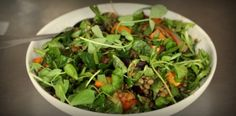 Puy Lentil Salad with Watercress Pesto
