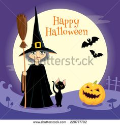 halloiween cards with black cats - Google Search