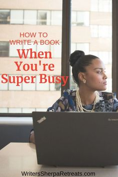 How to Write a Book When You're Super Busy -- Tips for getting your book done when you don't have time to write. Writing tips writing inspiration write a book become an author Memoir Writing, Writing Goals, Book Writing Tips, Fiction Writing, Becoming A Writer, Make Money Writing, Writing Inspiration, Getting Things Done, Creative Writing