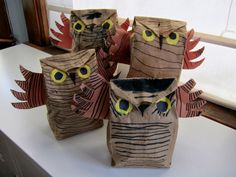 "Joyfully Weary: ""Owl Moon"" Craft"