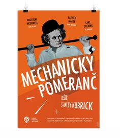 Clockwork orange film poster
