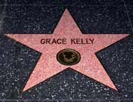 Grace Kelly's Hollywood Walk of Fame Star--North side of the 6300 block of Hollywood Boulevard