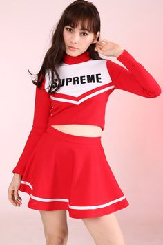 Image of Made To Order - Team Supreme Cheerleading Set