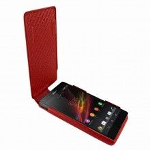 Forro Sony Xperia Z Piel Frama iMagnum - Roja  Bs.F. 605,44