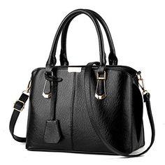 Allway store Women's PU Leather Shoulder Bag Top-Handle Handbag Tote Duffel Bag - http://handbags.kindle-free-books.com/allway-store-womens-pu-leather-shoulder-bag-top-handle-handbag-tote-duffel-bag/
