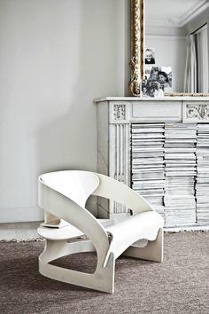 Inspiring fireplace bookshelf