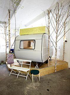 Hüttenpalast | Dormir dans une caravane insolite à Berlin | Hotels-insolites.com | Hotels-insolites.com