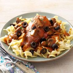 Chicken Neapolitan Recipe from Taste of Home -- shared by Joan Williams of Baltimore, Maryland  #make_ahead  #freezer_meal
