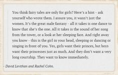 You Think Fairy Tales are Only For Girls?
