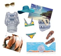 """""""Untitled #10"""" by aazraa ❤ liked on Polyvore featuring DailyLook, Tory Burch and kiini"""