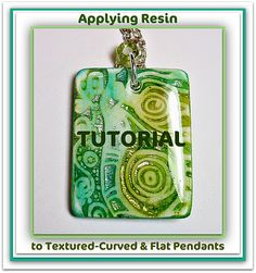 Polymer Clay Tutorial  Applying Resin