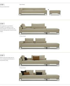 Aikon Lounge Compacte-hoekopstelling | Design on Stock