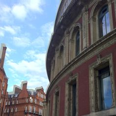 Royal Albert Hall windows