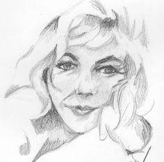 Marilyn -esolomon art