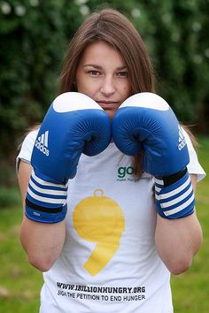 Five Times European Boxing Champion, Four times World Boxing Champion and Olympic Gold Medal Winner Katie Taylor