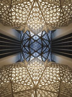 Image 57 of 57 from gallery of Morpheus Hotel / Zaha Hadid Architects. Photograph by Zaha Hadid Architects Zaha Hadid Interior, Zaha Hadid Architecture, Interior Architecture, Zaha Hadid Buildings, Amazing Architecture, Zaha Hadid Design, Arquitetos Zaha Hadid, Architectes Zaha Hadid, Macau