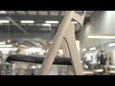 The Sawbuck Chair by Hans J. Wegner - YouTube