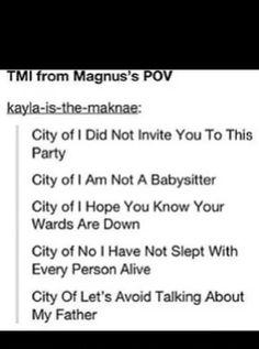 Magnus' pov