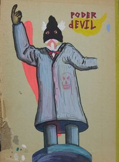 "Artista: Ricardo Muñoz Izquierdo, Dibujo 18 de la Intervención ""Caldo de Ojo"", Dibujo sobre portada de libro, 19,5 x 13 cm, 2012-2014 + PA  Artist: Ricardo Muñoz Izquierdo, 18 Drawing from the Intervention ""Eye Soup "" , drawing on book cover , 19.5 x 13 cm, 2012-2014 + PA #art #arte #dibujo #drawing #contemporaryworkart #contemporarydrawing"