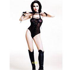 Érzékien szexi fekete áttetsző fűzős body Ebben a lélegzetelállító fekete fűzős bodyban páratlan élményben lehet része a fehérnemű viselőjének és az őt szemlélőnek egyaránt. Légy bevállalós, hiszen a férfiaknak az számít, hogy mennyire csábító és szexi a kisugárzásod! Mindenki szeretné magát csábos istennőnek érezni a hálószobában, szeretne buja szirénként hódítani. Ebben ez a szexi ruhanemű remek segítséget ad.