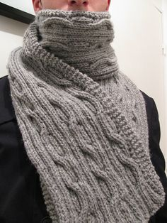 Free Pattern: Mr. O'Leary's Scarf