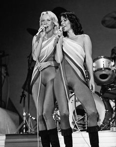 Agnetha and Frida Abba. Frida Abba, Abba Mania, Celebrity Boots, Sexy Older Women, Female Singers, These Girls, Pop Group, Actresses, Rock Girls
