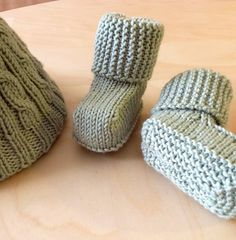 Ravelry: Oh! Baby Booties pattern by Double Diamond Knits