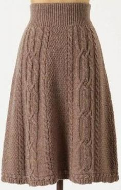 Dazzling Crochet a Bodycon Dress Top Ideas Crochet Skirt Antropologie cable knit skirt Record of Knitting Wool rotating, weaving and sewing jobs such as BC. Crochet Skirt Outfit, Crochet Skirt Pattern, Knit Skirt, Knit Dress, Knit Crochet, Doilies Crochet, Crochet Skirts, Free Crochet, Knitting Wool