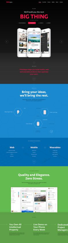 ThinkApps Website by Unity
