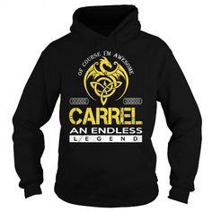 nice CARREL T-shirt Hoodie - Team CARREL Lifetime Member