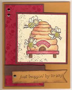 Just Buzzin By by rfrale11 - Cards and Paper Crafts at Splitcoaststampers