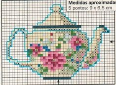 Points of Flower: Cross Point (reason: Teapots and cups)
