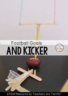 STEM Challenge! It's time for football. Check this blog post for more!