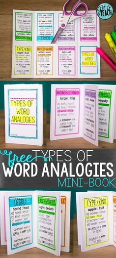 Take the mystery out of word analogies! Grab this free vocabulary tool to use in your classroom.