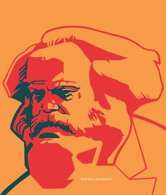 Soviet Art, Karl Marx, Commercial Art, Retro Art, Artist Painting, Aesthetic Art, Designs To Draw, Graphic Art, Illustration Art