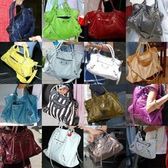 Icon of the Week: Balenciaga Motorcycle Bag - tongue in chic Balenciaga Handbags, Celine Handbags, Valentino Shoes, Balenciaga City Bag, Luxury Handbags, Designer Handbags, Balenciaga Motorcycle Bag, Balenciaga Leather Jacket, Mulberry Bag