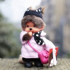 13 Inch Monchhichi Collection Doll Great for Animal Collector