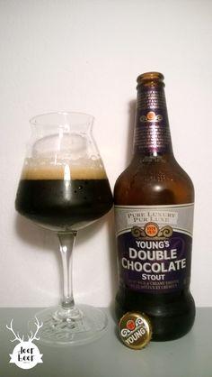 Wells & Young's Ltd - Young's Double Chocolate Stout #stout #chocolatestout #beer #godsavethebeer #deerbeer