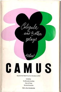 Caligula! Paul Rand's hand lettering combined w/ type for midcentury modern via @thinkstudionyc