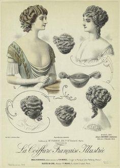 ❤ - La Coiffure Française Illustrée - 1910