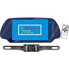 Pyle PLCM7300BT 7-Inch TFT Mirror Monitor with Rear-View Night Vision Camera Built-In Bluetooth - http://electmecameras.com/camera-photo-video/digital-cameras/pyle-plcm7300bt-7inch-tft-mirror-monitor-with-rearview-night-vision-camera-builtin-bluetooth-ca/