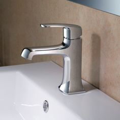 Stufurhome Ella ST9001 Single Hole Bathroom Faucet