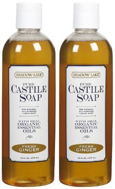 Shadow Lake Castile Soap Liquid  Fresh Ginger  16 oz  2 pk ** You can get additional details at the image link.