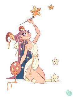 My Taurus Moon is loving this! Taurus by MeoMai on DeviantArt: Cartoon Kunst, Cartoon Art, Fantasy Kunst, Fantasy Art, Art And Illustration, Pretty Art, Cute Art, Character Concept, Character Art