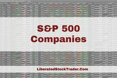 S&P 500 Companies List by Market Capitalization