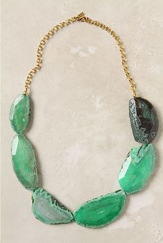 {Stone Pop Necklace | Anthropologie}