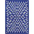 Handmade Blue Blended Wool Rug (8' x 10') | Overstock.com
