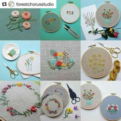 @forestchorusstudio #bordado #embroidery #broderie #ricamo #handembroidery #needlework