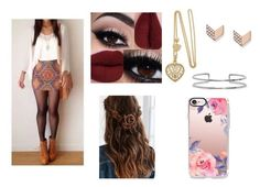 """""""Untitled #267"""" by weirdobutfun on Polyvore featuring FOSSIL, Boohoo, Urban Outfitters and Casetify"""