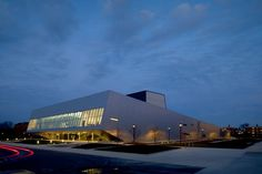 Wolfe Center for the Arts at Bowling Green State University in Ohio by Snøhetta Architects